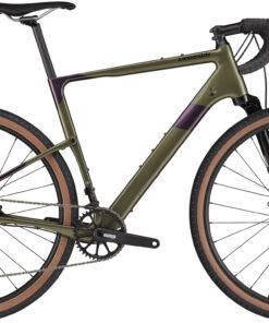 Cannondale Topstone Carbon Lefty 3 2021 - grøn