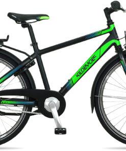 "Kildemoes Bikerz 7g Dreng 24"" 2020 - Sort/grøn"