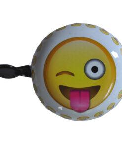 Emoticon crazy - Ringeklokke - Blinke smiley