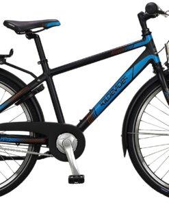 "Kildemoes Bikerz Urban 7g 24"" Dreng 2021 - Sort"