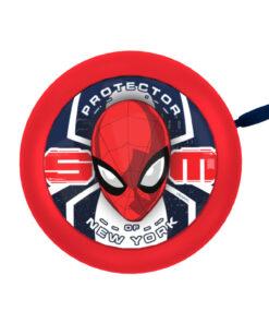 Seven - Spiderman - Ringeklokke til børnecykel - Rød - Str. Ø55mm