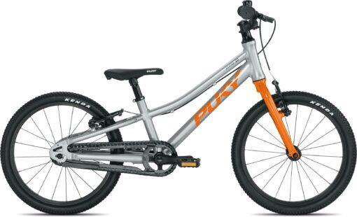 """PUKY LS-PRO 18 Alu 18"""" - Sølv/orange"""